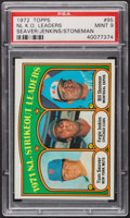 Baseball Cards:Singles (1970-Now), 1972 Topps NL Strikeout Leaders #95 PSA Mint 9. ...