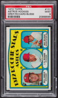 Baseball Cards:Singles (1970-Now), 1972 Topps Astros Rookies #101 PSA Mint 9....
