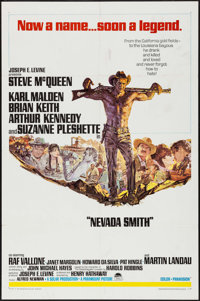 "Nevada Smith (Paramount, 1966). One Sheet (27"" X 41"") & Uncut Pressbook (16 Pages, 11"" X 15""). W..."