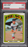 Baseball Cards:Singles (1970-Now), 1972 Topps Mike Fiore #199 PSA Mint 9 - Only One Higher....