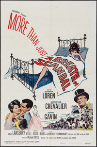 "A Breath of Scandal & Others Lot (Paramount, 1960). One Sheets (4) (27"" X 41""). Romance. ... (Total: 4..."