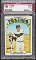 Baseball Cards:Singles (1970-Now), 1972 Topps Rod Carew #695 PSA Mint 9. ...