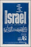 "Movie Posters:Documentary, Israel & Other Lot (Warner Brothers, 1959). One Sheet (27"" X 41"") & Insert (14"" X 36""). Documentary.. ... (Total: 2 Items)"
