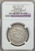 China:Kirin, China: Kirin. Kuang-hsu 50 Cents ND (c. 1898) XF Details (Surface Hairlines) NGC,...