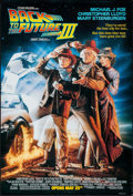 """Movie Posters:Science Fiction, Back to the Future Part III (Universal, 1990). One Sheet (26.75"""" X39.5"""") DS Advance. Science Fiction.. ..."""
