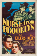 """Movie Posters:Crime, Nurse from Brooklyn (Universal, 1938). One Sheet (27"""" X 41"""").Crime.. ..."""