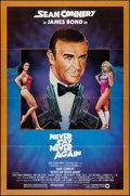 "Movie Posters:James Bond, Never Say Never Again (Warner Bros., 1983). Folded, Very Fine-. One Sheet (27"" X 41""). Rudy Obrero Artwork. James Bond.. ..."