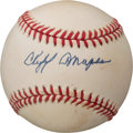 Baseball Collectibles:Balls, 1980's Cliff Mapes Single Signed Baseball....