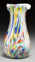 Art Glass:Other , A Fratelli Toso Apprenzia Glass Vase, Murano, Italy. 12-1/2 inches high x 6-1/2 inches diameter (31.8 x 16.5 cm). ...