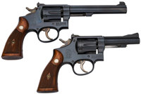Lot of Two Smith & Wesson Double Action Revolvers