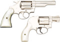 Handguns:Double Action Revolver, Lot of Two American Double Action Revolvers.... (Total: 2 Items)