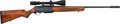 Long Guns:Semiautomatic, Belgian Browning Safari Grade Bar II Semi-Automatic Rifle withTelescopic Sight....