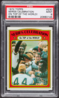 Baseball Cards:Singles (1970-Now), 1972 Topps World Series Celebration #230 PSA Mint 9 - Only ThreeHigher. ...