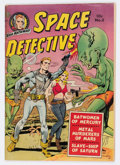 Golden Age (1938-1955):Science Fiction, Space Detective #2 (Avon, 1951) Condition: VG+....