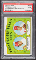 Baseball Cards:Singles (1970-Now), 1972 Topps Reds Rookies #524 PSA Mint 9 - None Higher. ...