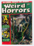 Golden Age (1938-1955):Horror, Weird Horrors #4 (St. John, 1952) Condition: FN-....