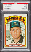 Baseball Cards:Singles (1970-Now), 1972 Topps Hal Lanier #589 PSA Mint 9....