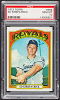 Baseball Cards:Singles (1970-Now), 1972 Topps Ed Kirkpatrick #569 PSA Gem MT 10 - Pop Four. ...
