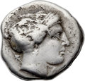Ancients:Greek, Ancients: ELIS. Olympia. Ca. 356 BC. AR stater (25mm, 11.31 gm,3h). Good Fine....