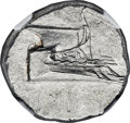 Ancients:Greek, Ancients: LYCIA. Phaselis. Ca. 4th century BC. AR stater (23mm,10.32 gm, 2h). NGC MS 5/5 - 4/5....