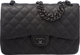 """Chanel So Black Black Quilted Leather Jumbo Double Flap Bag Condition: 1 12"""" Width x 8"""" Height x 3"""" Depth..."""