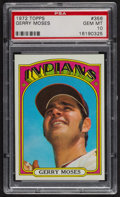 Baseball Cards:Singles (1970-Now), 1972 Topps Gerry Moses #356 PSA Gem MT 10. ...