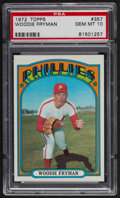 Baseball Cards:Singles (1970-Now), 1972 Topps Woodie Fryman #357 PSA Gem MT 10. ...