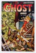 Golden Age (1938-1955):Horror, Ghost Comics #9 (Fiction House, 1953) Condition: VG+....