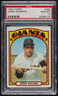 Baseball Cards:Singles (1970-Now), 1972 Topps Jimmy Rosario #366 PSA Gem MT 10 - Pop Five. ...
