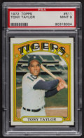 Baseball Cards:Singles (1970-Now), 1972 Topps Tony Taylor #511 PSA Mint 9 - Only Two Higher. ...