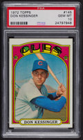Baseball Cards:Singles (1970-Now), 1972 Topps Don Kessinger #145 PSA Gem MT 10. ...