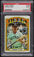 Baseball Cards:Singles (1970-Now), 1972 Topps Norm Cash #150 PSA Mint 9 - None Higher. ...