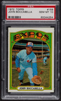 Baseball Cards:Singles (1970-Now), 1972 Topps John Boccabella #159 PSA Gem MT 10. ...