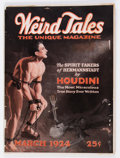 Pulps:Horror, Weird Tales - March 1924 (Popular Fiction) Condition: ApparentVG....