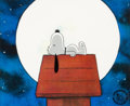 Animation Art:Production Cel, You're a Good Man, Charlie Brown Snoopy Production Cel (BillMelendez, 1985). ...