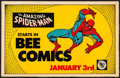 "Movie Posters:Action, Amazing Spider-Man in Bee Comics (Sacramento Bee, 1977).Promotional Newstand Poster (11"" X 17""). Action.. ..."