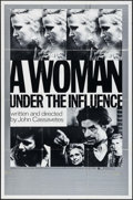 "Movie Posters:Drama, A Woman Under the Influence (Independent, 1974). One Sheet (27"" X41""). Drama.. ..."