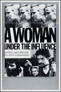 """A Woman Under the Influence (Independent, 1974). One Sheet (27"""" X 41""""). Drama"""