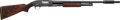 Shotgun:Slide Action, Custom Engraved Winchester Model 12 Slide Action Shotgun....