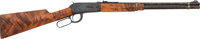 Engraved Winchester Model 94 Lever Action Rifle