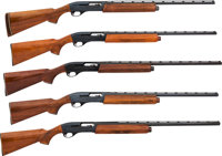 Lot of Five Remington Semi-Automatic Shotguns