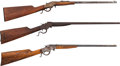 Long Guns:Single Shot, Lot of Three J. Stevens Single Shot Rifles.... (Total: 3 Items)