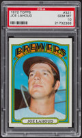 Baseball Cards:Singles (1970-Now), 1972 Topps Joe Lahoud #321 PSA Gem MT 10 - Pop Five. ...