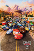 Animation Art:Poster, Cars Theatrical Poster Signed by John Lasseter, Group of 2(Disney/Pixar, 2006).... (Total: 2 )