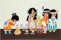 "Animation Art:Seriograph, Mary Blair ""The Grand Canyon Concourse"" Walt Disney World HotelSigned Serigraph Print (Walt Disney, 1971). ..."