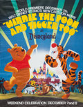 Animation Art:Poster, Winnie the Pooh and Tigger Too/The Great Mouse DetectiveSpecial Screening Poster Group of 2 (Walt Disney, 1974-86)....(Total: 2 Items)