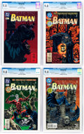 Modern Age (1980-Present):Superhero, Batman Group of 5 (DC, 1995-97) CGC NM/MT 9.8.... (Total: 5 ComicBooks)