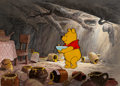 Animation Art:Production Cel, Winnie the Pooh and the Honey Tree Production Cel Animation Art(Walt Disney, 1966)....