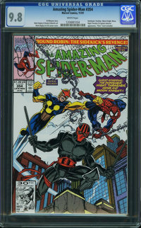 The Amazing Spider-Man #354 - WESTPORT COLLECTION VOL 2 (Marvel, 1991) CGC NM/MT 9.8 White pages