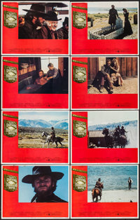 "High Plains Drifter (Universal, 1973). Lobby Card Set of 8 (11"" X 14""). Western. ... (Total: 8 Items)"